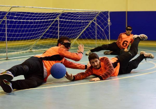 Erkek Milli Goalball Takımı'nın hedefleri 'Engel tanımıyor'