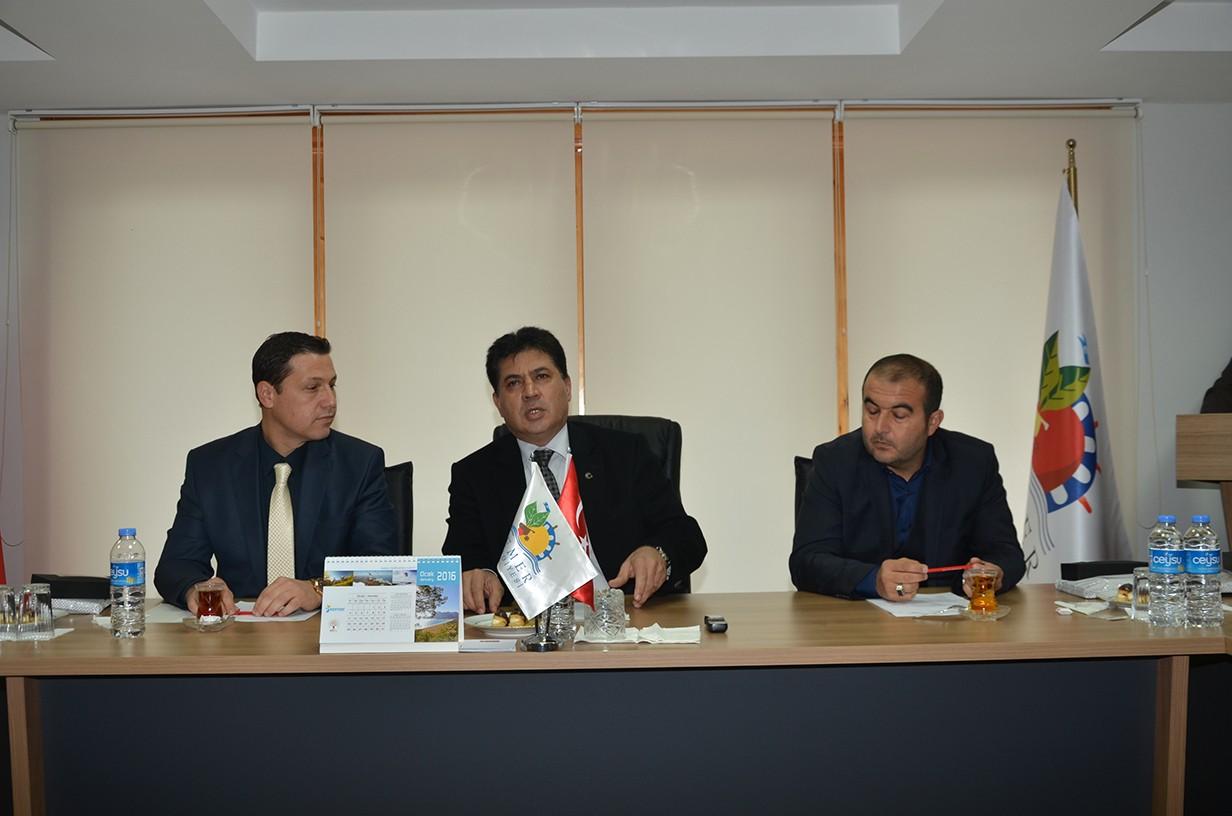 2016 Yılının İlk Meclis Toplantısı Yapıldı