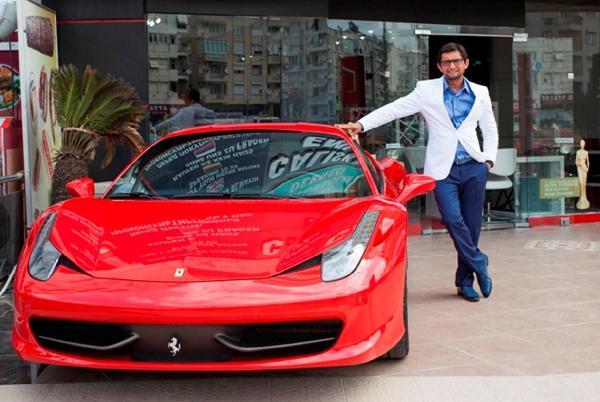Antalya'da Ferrarili müteahhide 885 yıl hapis talebi