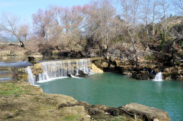 Baraj arızalanınca Manavgat Şelalesi susuz kaldı