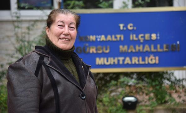 Antalya'nın 5 dönemdir kadın muhtarı