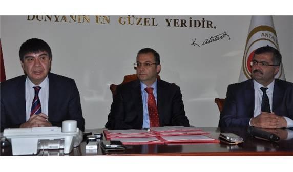 ANTALYA'DA EĞİTİME DESTEK PROTOKOLÜNÜ İMZALADI