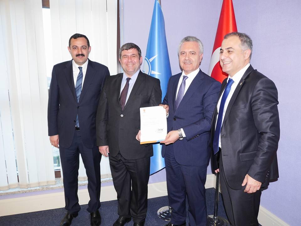Kemer Ak Parti İlçe başkanlığına Halit ÇİLENGİR atandı.