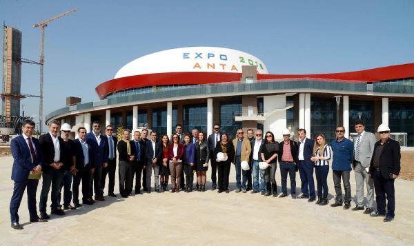 Medya temsilcilerine EXPO gezisi