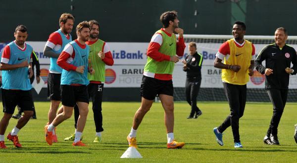 Antalyaspor'da, Medicana Sivasspor maçı hazırlıkları sürüyor