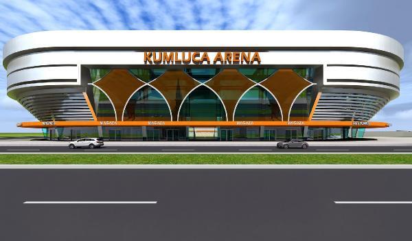 Kumluca Arena görücüye çıktı