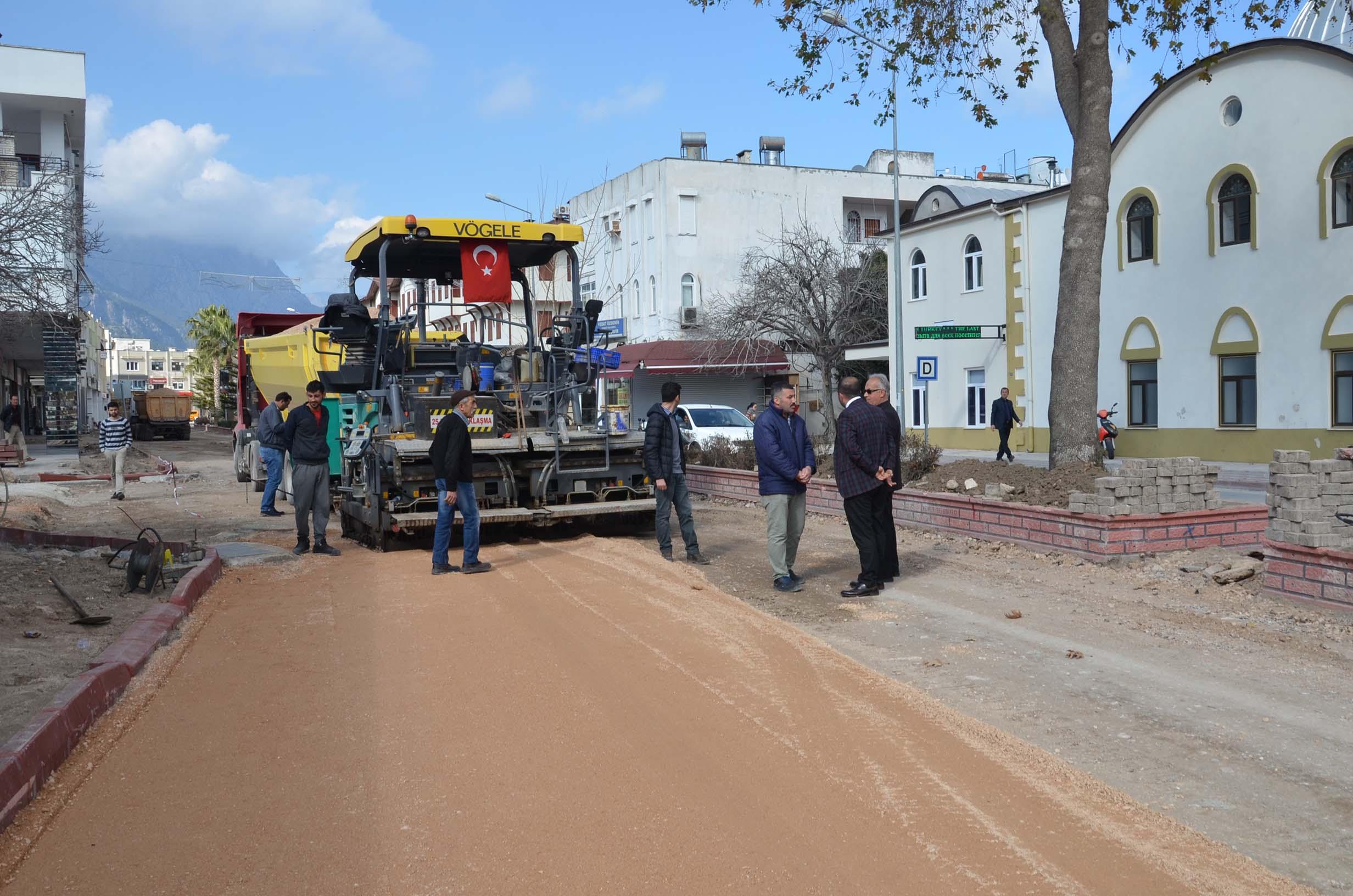 Kemer Belediyesi Çalışmalarında Hız Kesmiyor