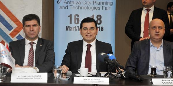 Antalya City Expo, 16 Mart'ta kapılarını açacak