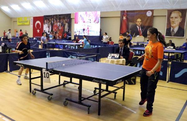 Özel Sporcular Masa Tenisi Bölge Şampiyonası Başladı