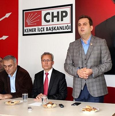 "CHP Antalya Milletvekili Devrim Kök, ""Biz sosyal demokrat bir partiyiz."