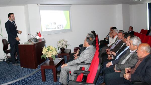 Kumluca'da EXPO bilgilendirme toplantısı yapıldı