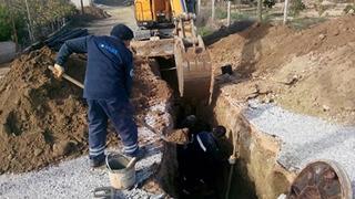 Manavgat'ta kanalizasyonsuz sokak kalmıyor