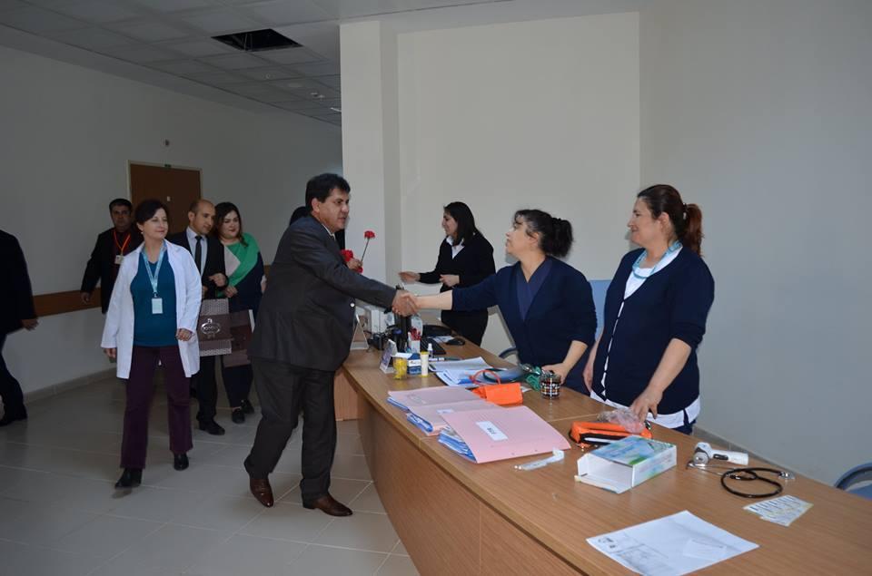 Başkan Gül, Sağlık Çalışanların 14 Mart Tıp Bayramını Kutladı