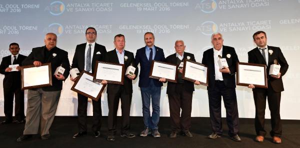 ATSO'nun Geleneksel Ödülleri sahiplerini buldu
