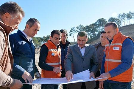 Adrasan Barajı'nın yüzde 51'i tamamlandı