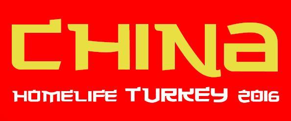 CHİNA HOMELİFE TURKEY ANTALYA'DA