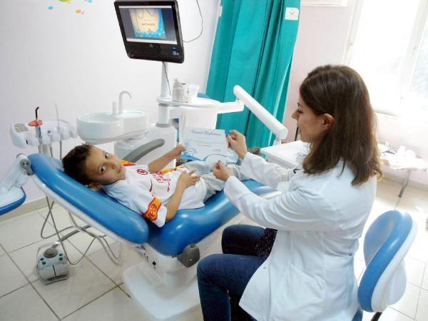 Çocuklar artık dişçiden korkmayacak