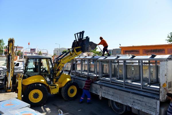 Muratpaşa Belediyesi konteynerleri satmaya başladı