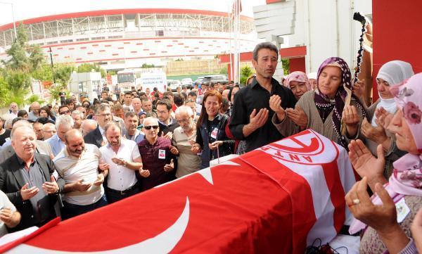 Antalyaspor'un acı günü