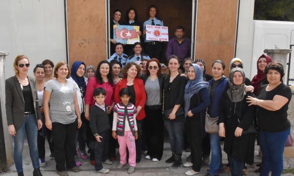 Polis ve askere Antalya'dan destek