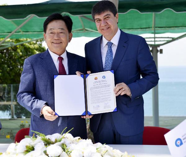 Suncheon ve Antalya arasında dostluk sözleşmesi