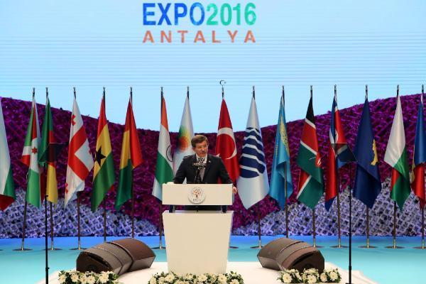 Expo 2016 Antalya, devletin zirvesinin katıldığı törenle açıldı