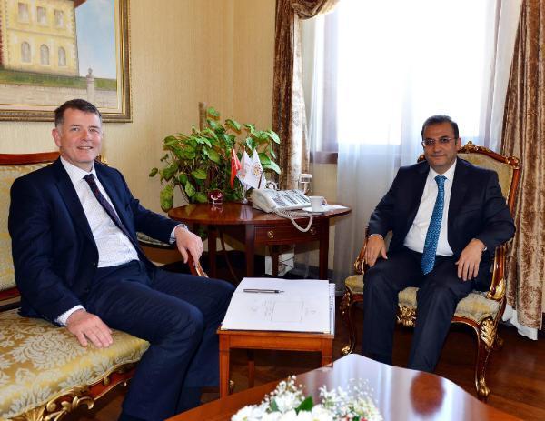 Büyükelçi Moore, Vali Türker'i ziyaret etti