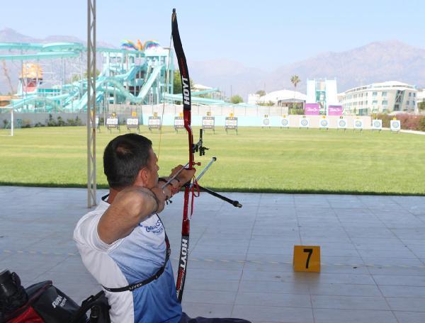Bedensel Engelliler Türkiye Okçuluk Şampiyonası başladı