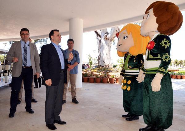 Anayasa Mahkemesi başkanları EXPO 2016 Antalya'yı gezdi