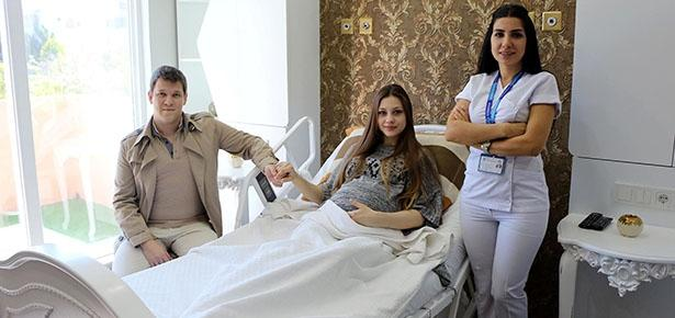 Hastanede kral dairesi konseptli özel oda