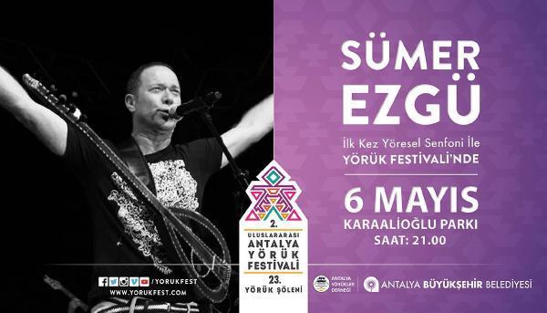 Sümer Ezgü senfonik türkülerle büyüleyecek