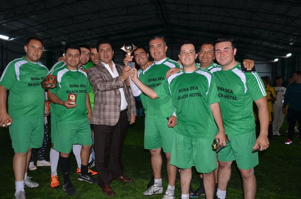 Kemer Belediyesi Futbol Turnuvası Sona Erdi