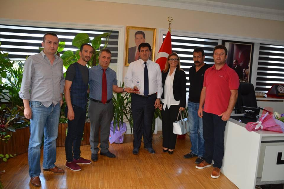 Eğitimiş Sendikası Temsilcileri, Başkan Gül'ü Ziyaret Etti