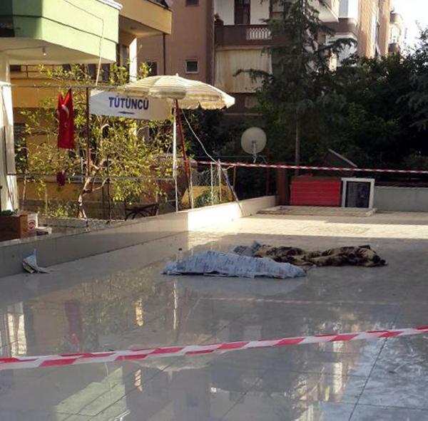 Balkondan düşen Suriyeli 2 kardeş, yaşamını yitirdi