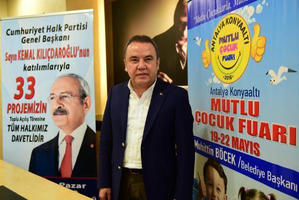 Kılıçdaroğlu, Konyaaltı'nda 33 projenin açılışını yapacak
