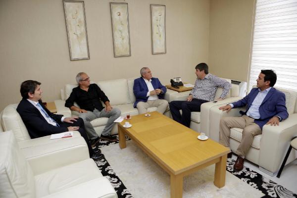 Çiçek Festivali Komitesi'nden Başkan Türel'e ziyaret