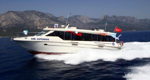 Deniz otobüsüne yaz tarifesi