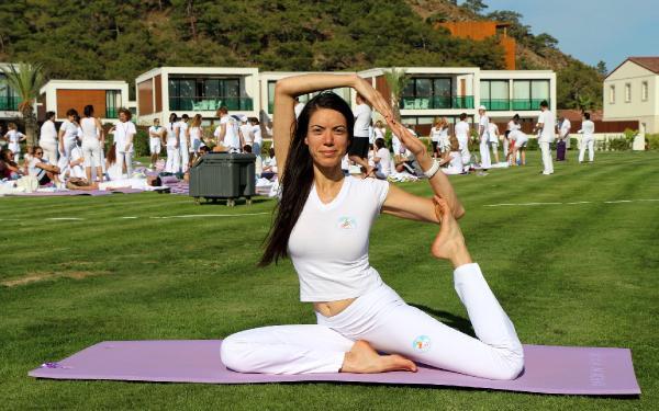 Uluslararası Yoga Festivali, Antalya'da başladı