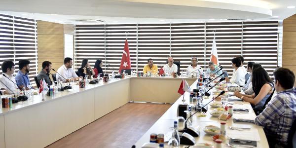 Başkan Bahar genç CEO'lar ile buluştu