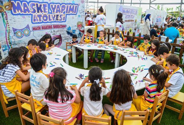 Expo 2016 Çocuk Adası'nda gün boyu eğlence
