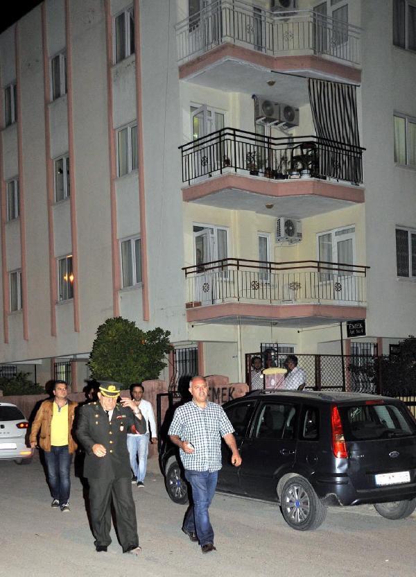 Şehit ateşi Antalya'ya düştü