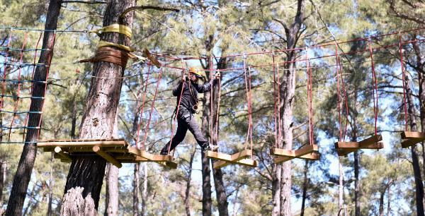 Macera Ormanı Kepez'de açılıyor