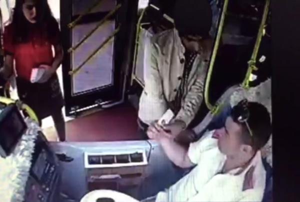 75 kuruş için şoföre bıçak çekti