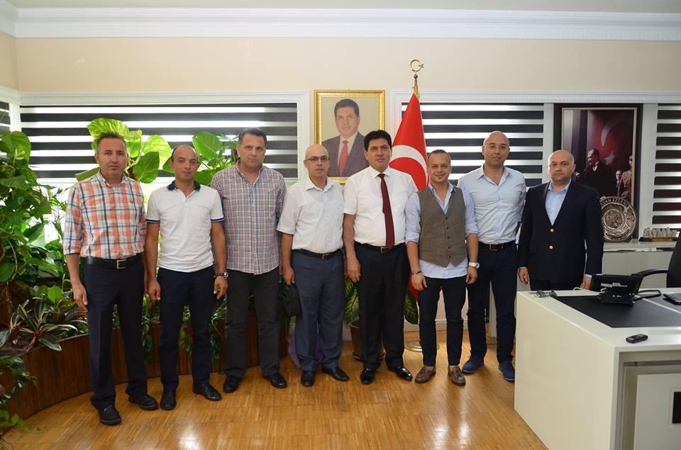 Akdeniz Bölgesel Yürütme Kurulundan Başkan Gül'e Ziyaret
