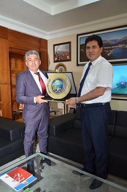 Emniyet Müdürü Saydam'dan Başkan Gül'e Veda Ziyareti