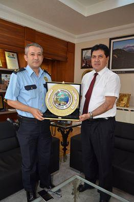 Emniyet Müdürü Karayakalı Başkan Gül'ü Ziyaret Etti