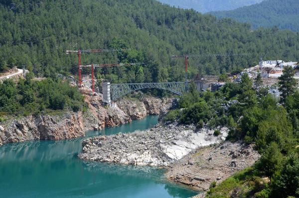 Ak Köprü ağustosta tamamlanıyor