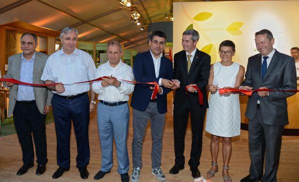 Expo 2016'daki Almanya Pavilyonu törenle açıldı