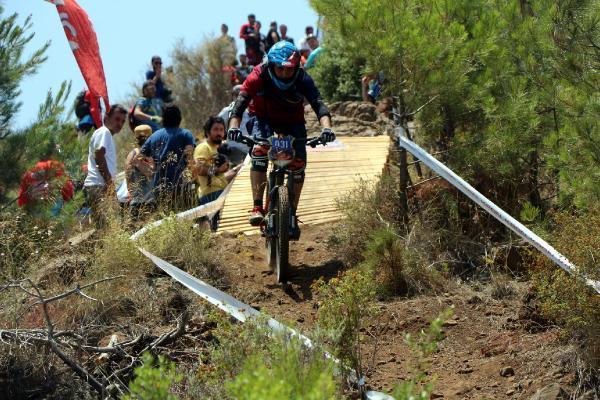 Down Olympos Dağ Bisikleti Yarışı başladı