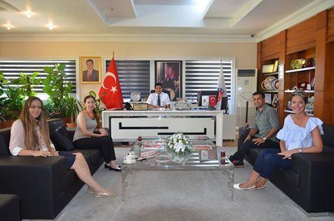 Has Koleji Yöneticileri Başkan Gül'ü Ziyaret Etti